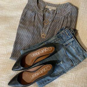 Ann Taylor LOFT tunic style top Sz XS